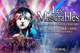 Book Tickets Now For The LES MISERABLES All-Star Concert