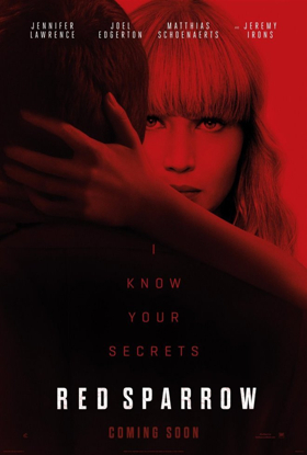 Academy Award Winner Jennifer Lawrence Stars in RED SPARROW, Arriving on DVD May 22