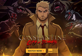 The CW Seed's CONSTANTINE: THE LEGEND CONTINUES to Air on The CW October 15h
