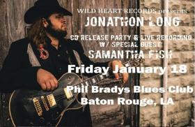 Guitarist Jonathon Long Will Perform Live Recording At Phil Brady's