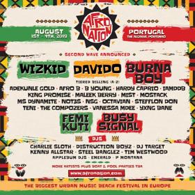 Afro Nation Announces Second Wave Lineup