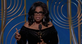 VIDEO: Oprah Winfrey Gives Empowering Speech at Golden Globes