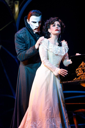 The Phantom Returns! Andrew Lloyd Webber's LOVE NEVER DIES Tour Opens Tonight in Detroit