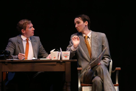 BWW Review: HOW TO SUCCEED IN BUSINESS Musical Comedy Satirizes the Brotherhood of Backstabbing Men in the 1960s Corporate World