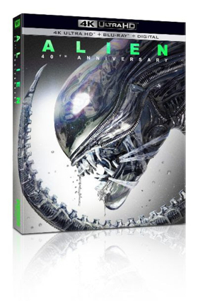 The Scariest Movie Ever Made Celebrates 40 Years as ALIEN Arrives on 4K Ultra HD 4/23