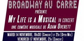 New York Composer Adam Overett Returns to Paris to Present MY LIFE IS A MUSICAL in Concert Tonight
