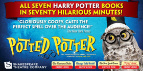 POTTED POTTER Returns To D.C. To Entertain The District's Muggles, Witches And Wizards