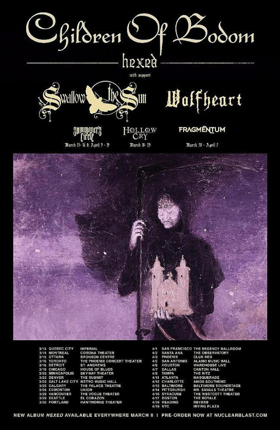 Swallow The Sun Announces Tour With Children Of Bodom