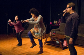 BWW Review: PEOPLE OF COLOR CHRISTMAS Hilariously Examines the White Elephant in the Room All Over Austin, TX