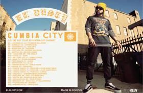 El Dusty Announces Cumbia City: U.S. Die Cut Tour 2018