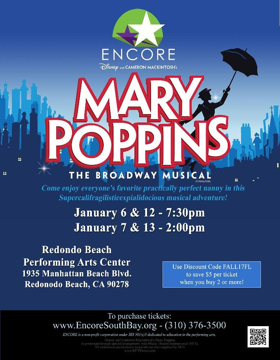 BWW Review: ENCORE Entertains Audiences with Fun-Filled MARY POPPINS Musical