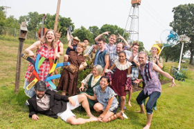 BWW Review: With DR. FALSTAFF, Mixed Precipitation Once Again Delivers a Delightful Mash-Up of Classic Opera and Pop Songs, Outdoors while Serving Fresh Local Food