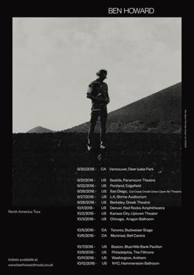 Ben Howard Confirms Fall 2018 North American Tour