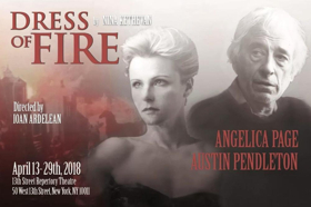 Austin Pendleton & Angelica Page to Star in New Play DRESS OF FIRE