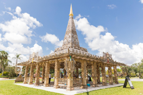 Artist David Best's 'Temple Of Time' Will Have a Ceremonial Burn