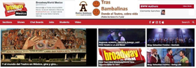 Bienvenidos a 2018 con BROADWAYWORLD MEXICO