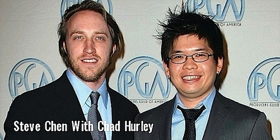 YouTube Founders Chad Hurley and Steven Shih Chen Earn Lifetime Engineering & Technology EMMY
