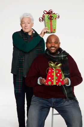 Ruben Studdard & Clay Aiken Ring in the Holidays on Broadway