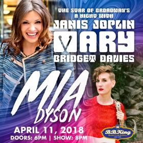 Tony-Nominee Mary Bridget Davies Announces Spring Tour with Mia Dyson