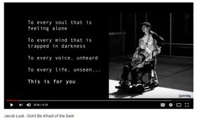 American Idol Finalist Jacob Lusk Releases DON'T BE AFRAID OF THE DARK Video