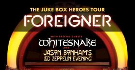 Foreigner Announces Summer 2018 'Juke Box Heroes Tour'