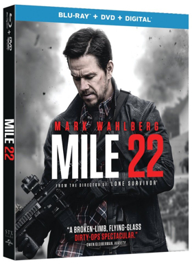 Mark Wahlberg's MILE 22 to be Available on DVD/Blu-Ray and Digital This October