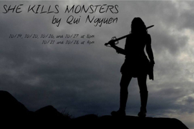 Carriage House Players Present SHE KILLS MONSTERS