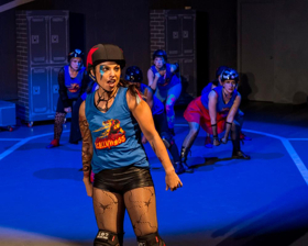 Review: FOR THE LOVE OF (OR, THE ROLLER DERBY PLAY) Opens Block Party 2019 in Winning Style