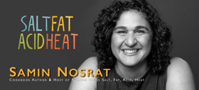 Samin Nosrat, Star of Netflix's SALT, FAT, ACID, HEAT, Speaks in Seattle in March