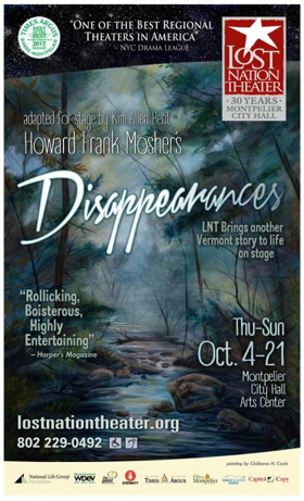 Lost Nation Theater Brings Howard Frank Mosher's DISAPPEARANCES To The Stage