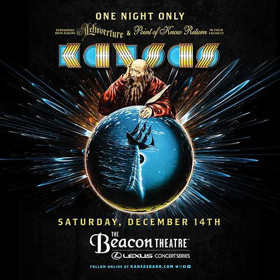 Kansas To Perform'Leftoverture' & 'Point Of Know Return' Back-to-Back In New York City
