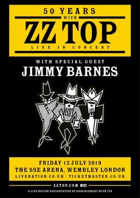 2019 European Tour Set To Celebrate 50 Years With ZZ Top