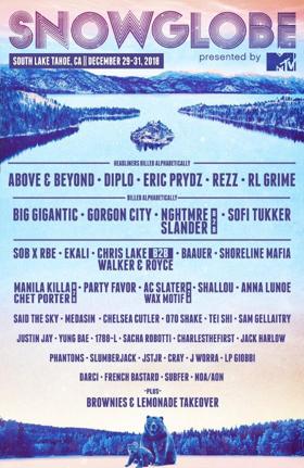 MTV Acquires Snowglobe Music Festival