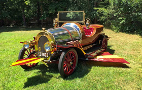 Exact Replica of Film's Famous CHITTY CHITTY BANG BANG Car Set for United Palace Benefit Screening
