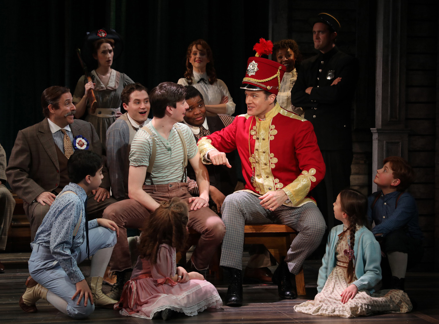 62cea209ceaa BWW Review  THE MUSIC MAN at Goodspeed Opera House