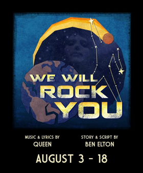The Cleveland Premiere Of The Queen Musical WE WILL ROCK YOU Comes to the Blank Canvas Theatre