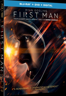 Ryan Gosling and Claire Foy Star in FIRST MAN, Available on Digital 1/8 and 4K Ultra HD, Blu-ray and DVD 1/22