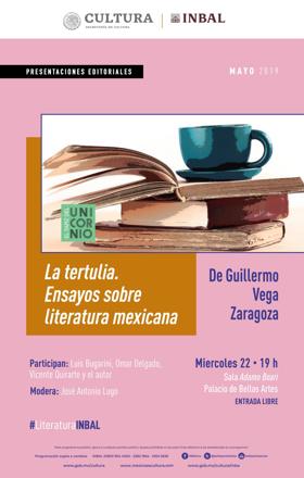 La tertulia. Ensayos sobre literatura mexicana, analiza textos de los principales escritores de la segunda mitad del Siglo XX