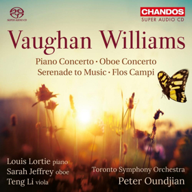 Chandos Releases Vaughan Williams: Orchestral Works By The TSO & Peter Oundjian