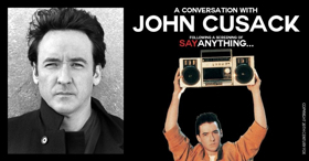 John Cusack Will Visit Hershey Theatre Followed by a Screening of 'Say Anything'