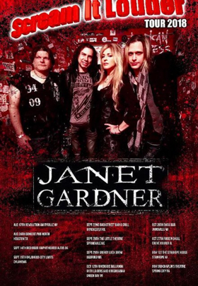 Janet Gardner Brings Her 'Scream It Louder Tour' to an End
