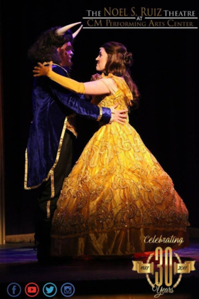 BWW Review: DISNEY'S BEAUTY AND THE BEAST at the Noel S. Ruiz Theatre