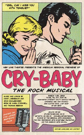 John Waters' CRY-BABY Musical to Open New Line Theatre's 29th Season