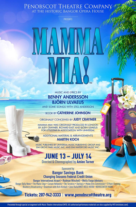 Penobscot Theatre Presents MAMMA MIA!