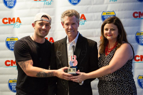 Inaugural Cracker Barrel Country Legend Award Presented to Randy Travis During the 2018 CMA Music Festival