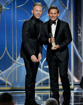 GREATEST SHOWMAN's Benj Pasek & Justin Paul Win Golden Globe for Best Original Song