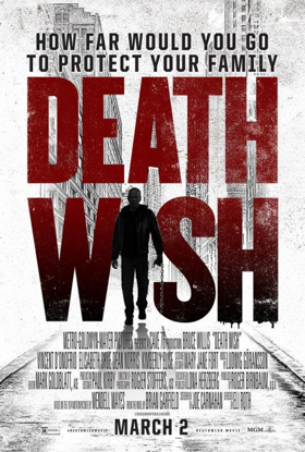 First Look - Bruce Willis Stars in Action-Thriller DEATH WISH, In Theaters Today