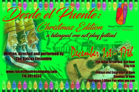 Raices Theatre Company to Present Christmas-Themed DESDE EL PUENTE