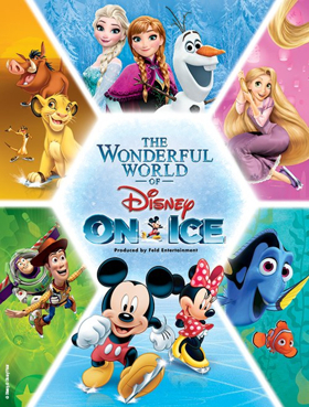 THE WONDERFUL WORLD OF DISNEY ON ICE Comes To Bojangles' Coliseum