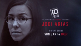 ID Premieres 3-Night Event JODI ARIAS: AN AMERICAN MURDER MYSTERY Starting Tonight